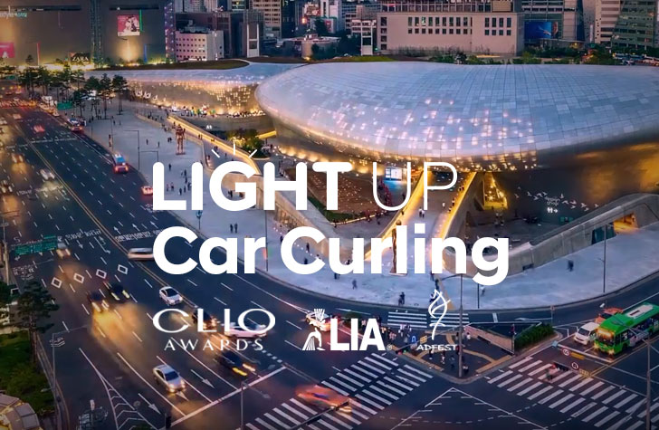 Light Up Carcurling